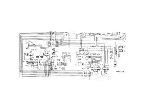 wiring diagram for frigidaire refrigerator frigidaire refrigerator wiring schematic parts model