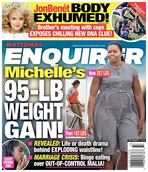 Magazine Gain Weight by Knock It Dummy Obama Is Not 257 Pounds