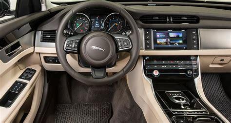 Jaguar Xf Interior Athletic Jaguar Xf Trails On Refinement Consumer Reports