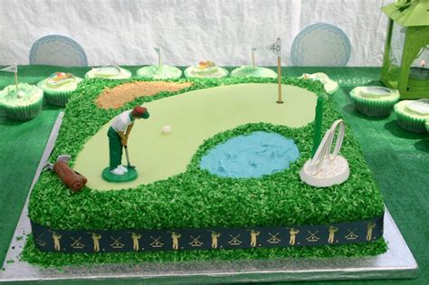 golf theme cake toppers home party theme ideas flour power cake journey golf themed cake
