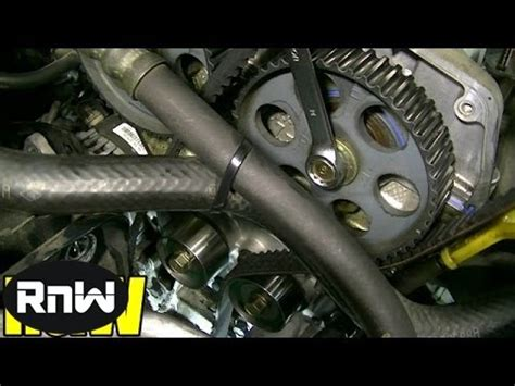 Kia Timing Belt Replacement 2002 Kia 1 5 Liter Timing Belt Replacement How To