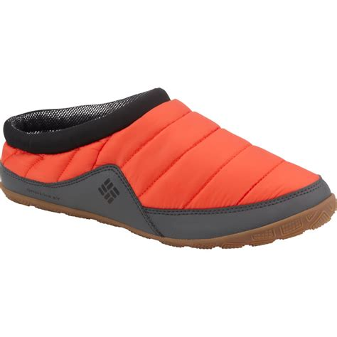 heated mens slippers columbia packed out ii omni heat slipper s