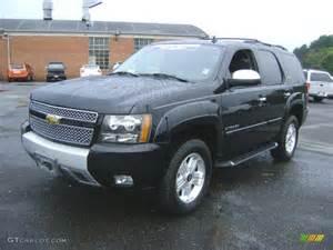 2008 black chevy tahoe