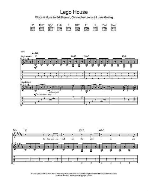 lego house tab guitar guitar tabs ed sheeran guitar tabs ed guitar tabs guitar tabs ed sheeran