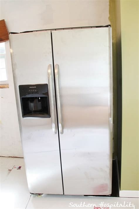 marvelous refrigerator cabinet side panels 9 stainless