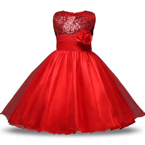 summer kids dresses  girls princess wedding party dress