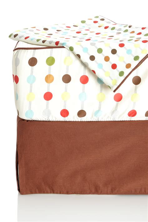 Nordstrom Rack Bedding by Skip Hop Mod Dot Bumper Free 4 Crib Bedding