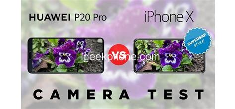 iphone xs vs huawei p20 pro comparison