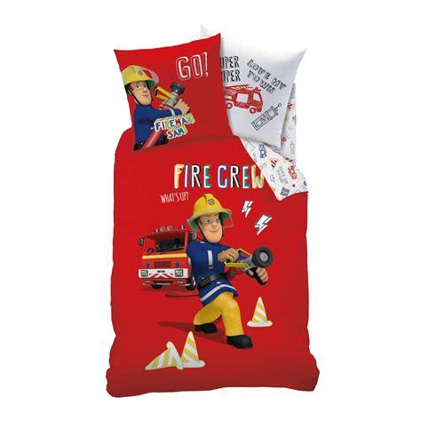 letto sam il pompiere parure da letto sam il pompiere casa kiabi