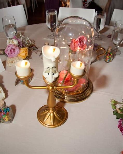 disney wedding centerpieces all the tables in this wedding was inspired by a different