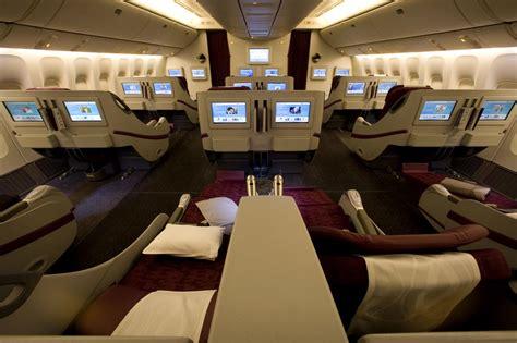 Qatar Airways Cabin Baggage by Qatar Airways B777 300er Business Class Doh Bkk The