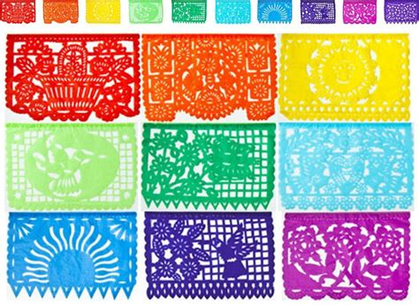 How To Make Mexican Paper Banners - papel picado banner for cinco de mayo
