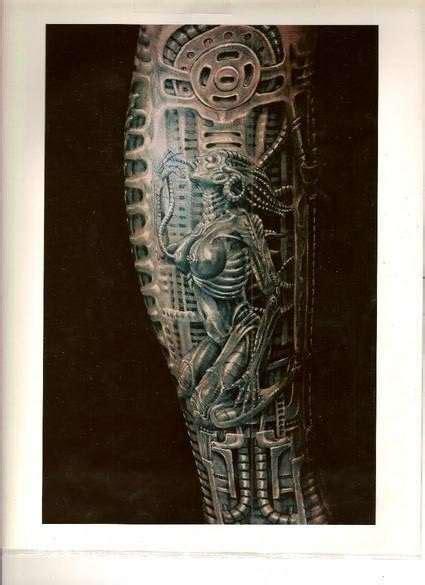 biomechanical tattoo florida biomechanical species tattoo