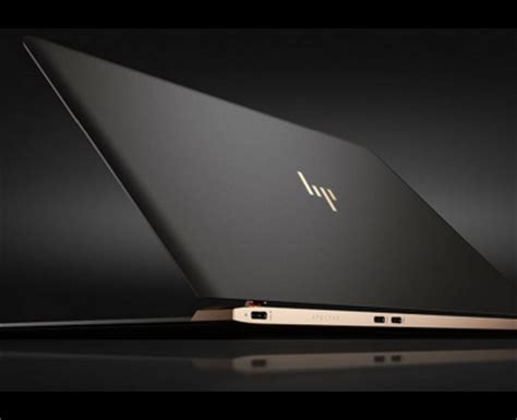 the new hp spectre: world's thinnest laptop laptop hub