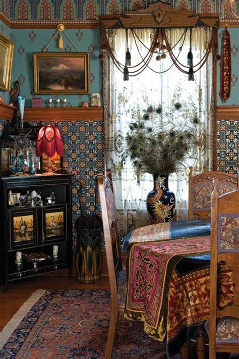 bohemian home decor and orginization