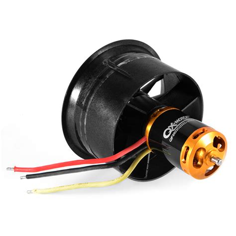 70mm ducted fan unit 64mm 70mm edf duct 12 fan unit blade prop motor kit for rc
