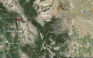 map of wildfires in colorado colorado beaver creek wildfire today