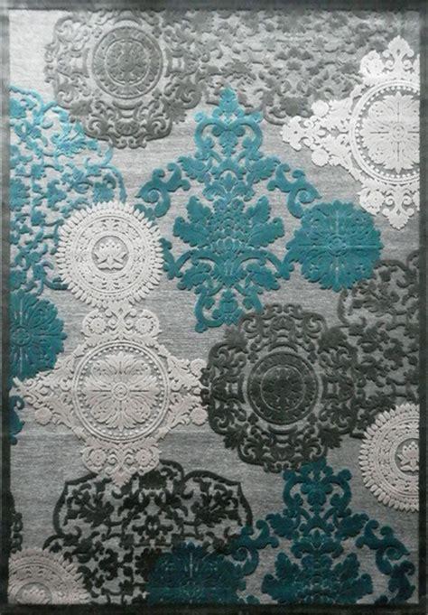 Tapis Beige Et Bleu by Impressionnant Tapis Bleu Beige D 233 Coration Fran 231 Aise