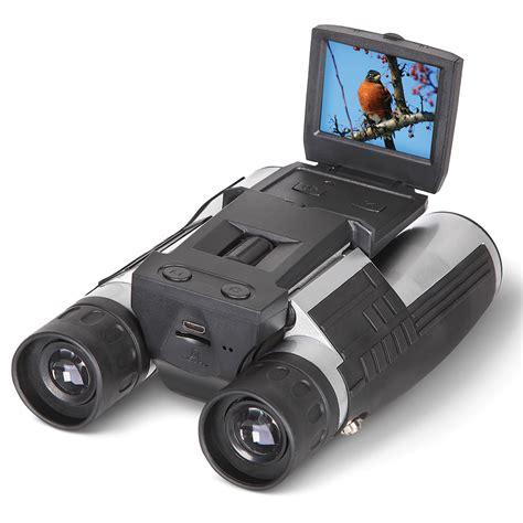 digital binoculars the best digital binoculars hammacher schlemmer