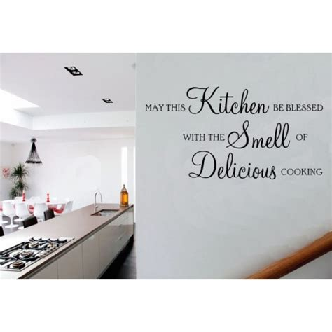 Kitchen Wall Quotes by Small Kitchen Wall Vinyl Quotes Quotesgram