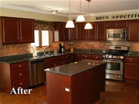 refinishing golden oak kitchen cabinets hinsdale cabinets refacer oakbrook kitchen cabinet