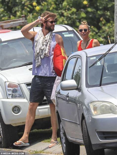 Miley Top miley cyrus celebrates fianc 233 liam hemsworth s birthday