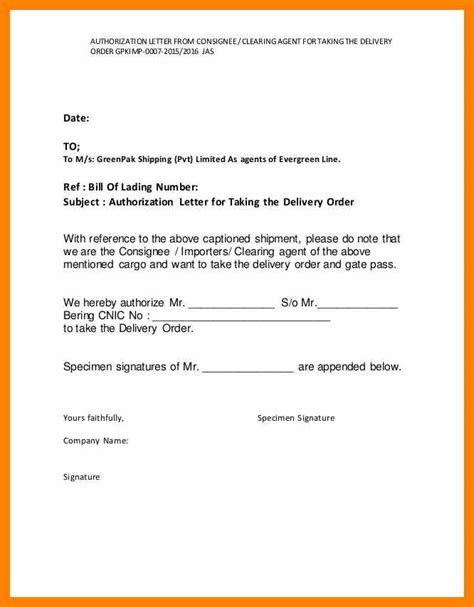 authorization letter with specimen signature of the bearer 10 specimen signature letter rn cover letter