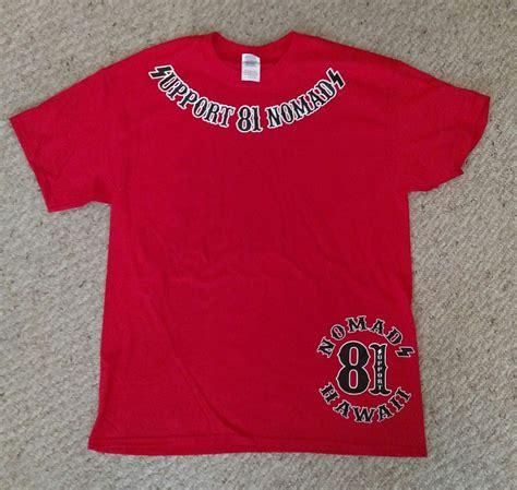 T Shirt Shpprt hells nomads hawaii new design support tshirt support 81 nomads ebay