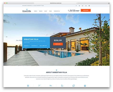 36 Best Real Estate Wordpress Themes For Agencies Realtors And Directories 2018 Colorlib Realtor Website Design Templates