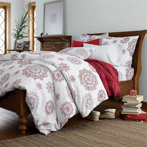 snowflake comforter crystal snowflake flannel sheets bedding set the