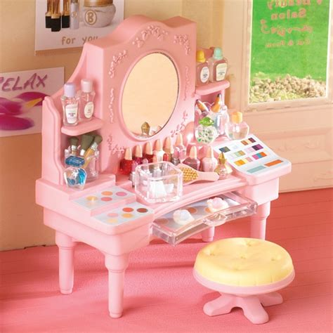 calico critter table salon dressing table sylvanian families calico critters collections dressing