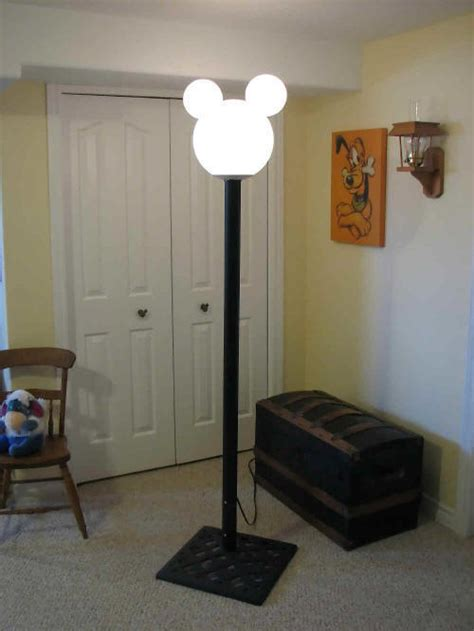 mickey mouse light post mickey mouse l post