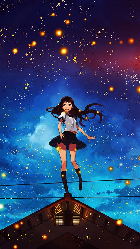 wallpaper anime iphone 4 art