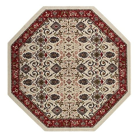 brumlow mills buy brumlow mills 174 tarsus 5 foot octagon accent rug in red