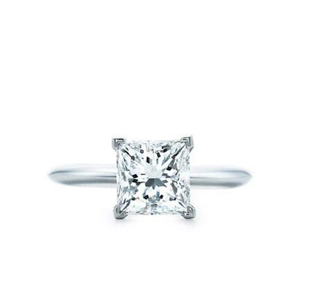 princess cut engagement ring i vow to