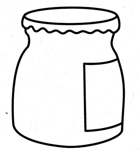imagenes para pintar frascos de vidrio dibujos de alimentos saludables para colorear colorear