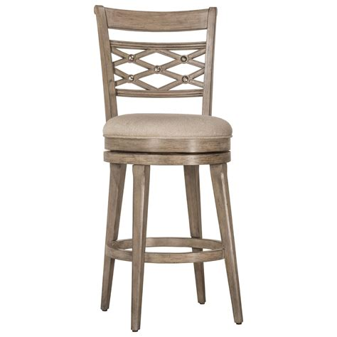 Wood Counter Stools by Hillsdale Wood Stools Upholstered Swivel Counter Stool