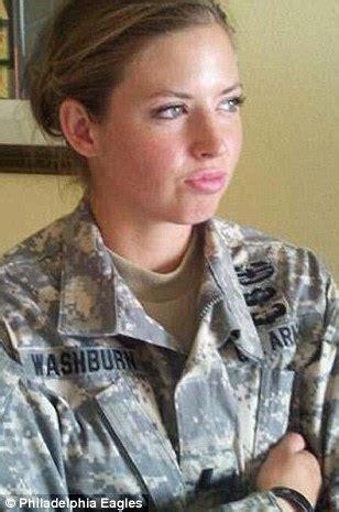 rachel washburn, former nfl cheerleader soldier who served
