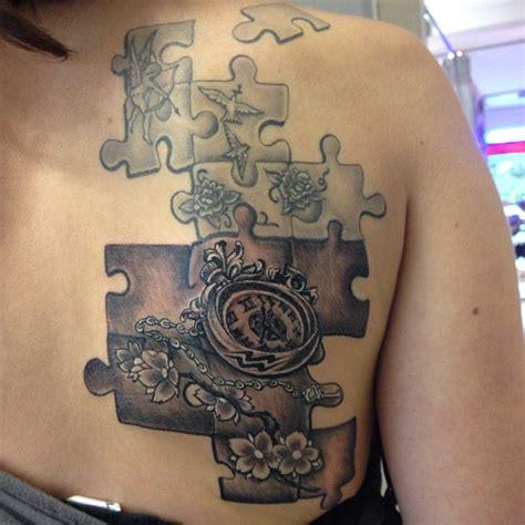 family tattoo puzzle add up puzzle tattoo tattoomagz