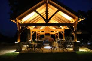 18 x54 timber frame pavilion in mohnton pa traditional patio philadelphia by mid