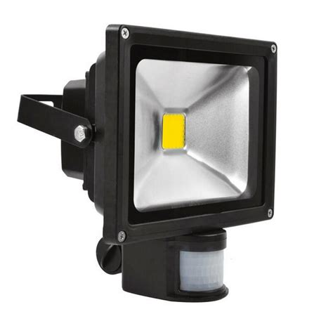 Outdoor Sensor Flood Lights 10w 20w 30w Ac85 265v Ip65 Waterproof Outdoor Pir Led Flood Light With Motion Sensor Led Jpg