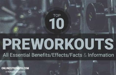 2016 supplement guide top 10 best pre workout supplements of 2016