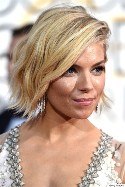 whatbhair texture does sienna miller have wavy bob hairstyles how to rock this summer s it cut