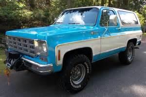 1977 Chevrolet Blazer Sell Used 1977 Chevy K5 Blazer 4x4 Cheyenne 80k Actual