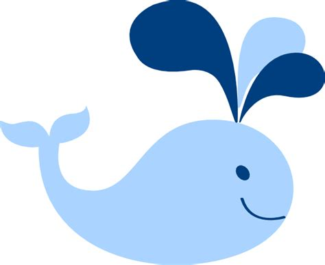 baby whale clipart baby blue whale clip at clker vector clip