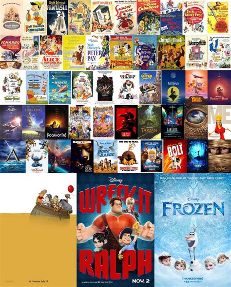 film animasi walt disney 2013 every original disney movie poster from 1937 to 2013 in