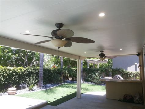 Alumawood Patio and Ceiling Fan Install   Handyman Unlimited