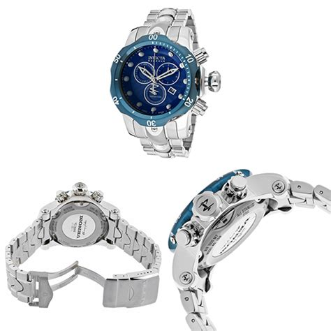 Steel Blue List Silver invicta mixed venom s chronograph watches