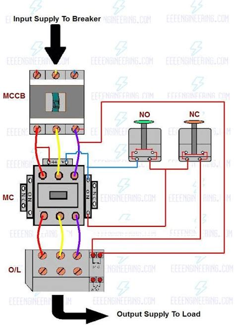 dol starter wiring diagram 26 wiring diagram images