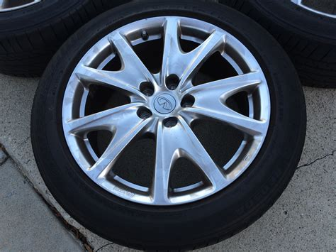35 Tires For 18 Inch Rims Fs G37s Sedan 18 Quot Sports Rims Staggered With Re050a Tires